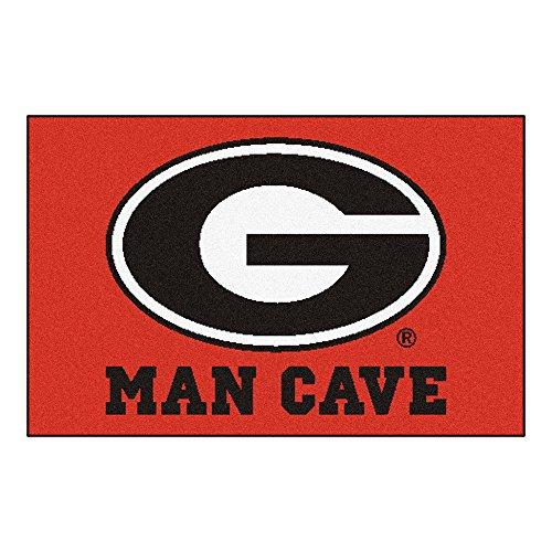 FANMATS 14636 University of Georgia Nylon Universal Man Cave