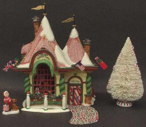 Santa's Visiting Center Department 56 North Pole Series #56407