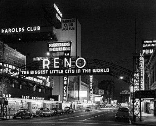 Reno Nevada USA Poster Print (18 x -