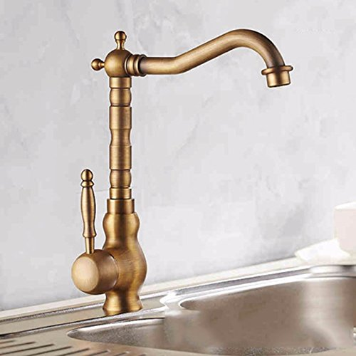 SCLOTHS Bathroom Basin Sink Mixer Tap Minimalist,Modern,retro,copper,kitchen,hot and cold faucet,redation,single hole,T-1561