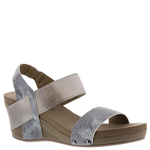 Corkys Bandit Women's Sandal 7 B(M) US Pewter-Distressed (Corkys Shoes Women Sandals)