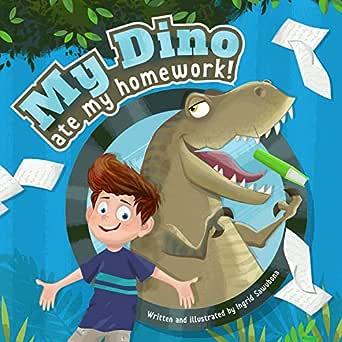 ate dinosaur homework