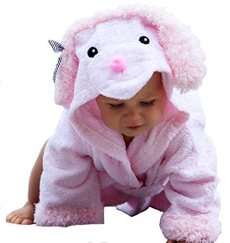 Baby Steps Bathrobe Months Present