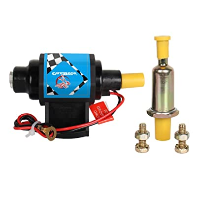12 Fuel Transfer Pump 4-7 PSI 35 GPH 5/16 inch Hose 12s Fuel Pump for Most Domestic 4,6 & 8 Cylinder Carburetor,Gasoline Only by Big Autoparts: Automotive