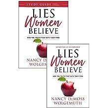 Lies Women Believe + Study Guide for Lies Women Believe - 2 book set