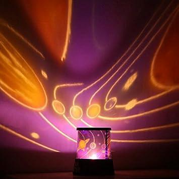 Flikool Luz de la Noche LED Iluminacion Proyector Romantico ...