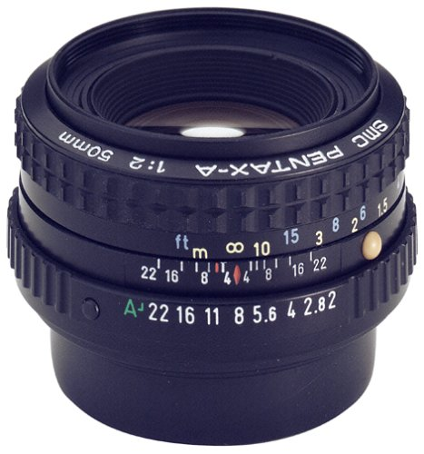 - Pentax SMCP-A 50mm f/2.0 Lens