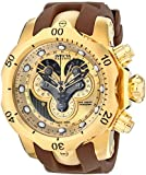 Invicta Men's 14464 Venom Analog Display Swiss Quartz Brown Watch