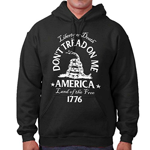 Brisco Brands Gadsden Flag Shirt Dont Tread On Me Culpeper USA Patriot Gift Hoodie Sweatshirt
