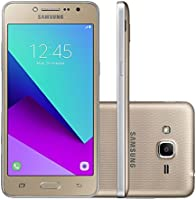 """Smartphone Samsung Galaxy J2 Prime TV. 5"""". 16 GB. 4G. Dual Chip. Android 6.0. Quad-Core. Câmera 8 MP. Dourado - Desbloqueado"""