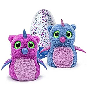 Hatchimals Hatching Egg Interactive Creature Owlicorn Baby Toy Pink Blue Toys Games