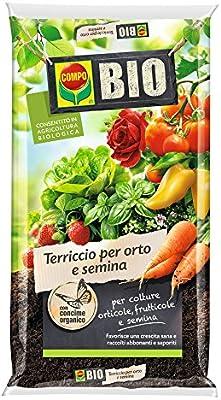 Sustrato biológico para huertos y siembra - paquete de 80 litros ...