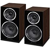 Wharfedale Diamond 220 Bookshelf Speakers Walnut