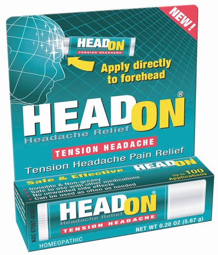 HeadOn - Appliquer directement sur la tension Headache Relief Front 0.2 oz (5,67 g)