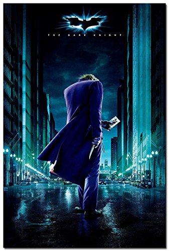 Twenty-three The Dark Knight Rises Movie Silk Poster 24X36' Wall Decor Joker Batman (Dark Knight Joker Poster)