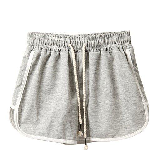 Clearance Sale!FarJing Women Fashion Summer Sport Shorts Beach Short Pants(2XL,Gray)