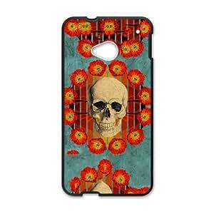 HTC One M7 Cell Phone Case Black_MAYHEM OCCULT Apmni