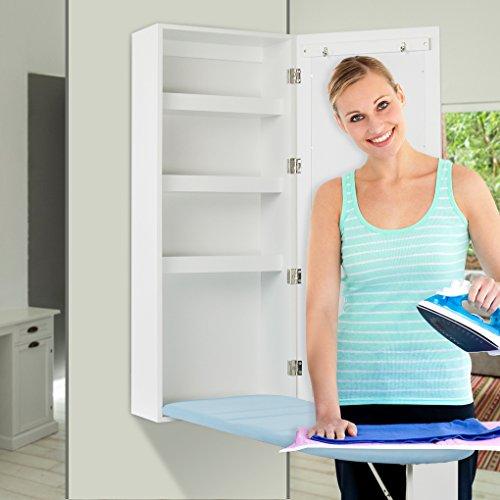 Youmay Foldable Ironing Board Cabinet & Shelving Storage
