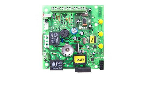 Nice SNA1/A central de control solo tarjeta electrónica para SPIN10KCE SPIN11KCE: Amazon.es: Bricolaje y herramientas