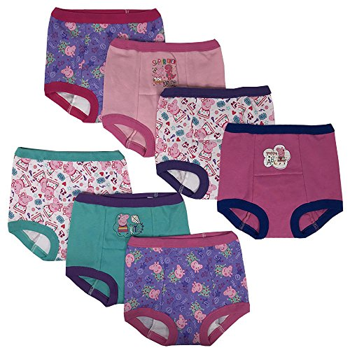 Training Training Pants Potty - Handcraft Peppa Pig Girls Potty Training Pants Panties Underwear Toddler 7-Pack Size 4T