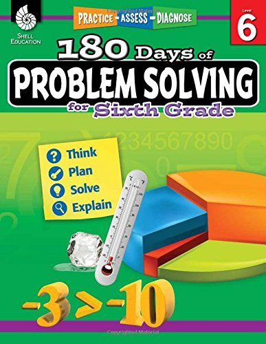 180 Days of Problem Solving for Sixth Grade (180 Days of Practice) by Stacy Monsman (2016-10-03)