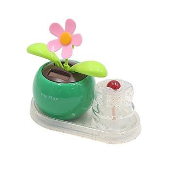 sourcingmap® Manzana verde flor Perfume Botella coche formó la base del ambientador de aire Decoración