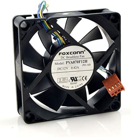 Amazon.com: for Foxconn FOXCONN PVA070F12H 12V 0.42A 7020 4-Wire PWM CPU Fan:  Computers & AccessoriesAmazon.com