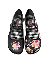 Hot Chocolate Design Chocolaticas Velvet Garden Women's Mary Jane Flat