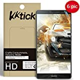 Huawei Mate 8 Screen Protector Cover, KKtick 6x Ultra-Clear High Definition (HD) Fingerprint resistant Screen Protectors for Huawei Mate 8