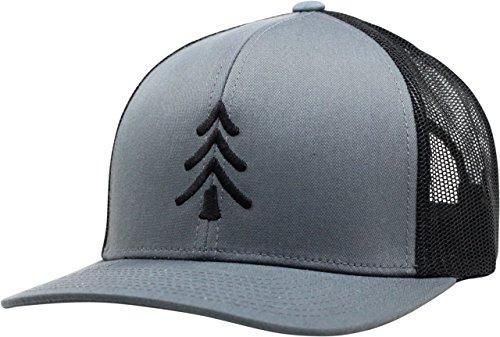 Lindo Trucker Hat - Pine Tree (Graphite/Black)