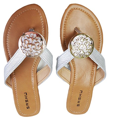 Sashu Womans Joyce Medallion Sandal
