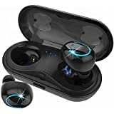 Wireless earbuds, Bluetooth earbuds, Wireless headphone, HBQ Brand IPX5 water proof earphone, with TWS technology and charging case