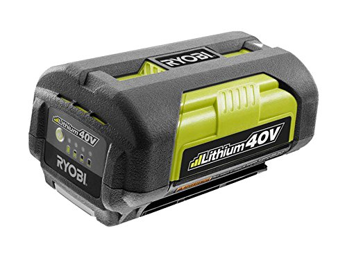 Ryobi Op4026a Genuine Oem 40V High Capacity Lithium Ion Battery W  Onboard Fuel Gauge