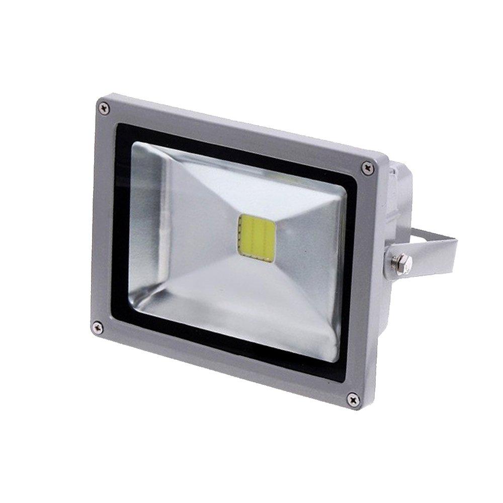 eTopLighting LEF120V50DL-1P Outdoor Waterproof 50W LED Flood Spot Light 120V Daylight White High Power Security Lamp 5600 Lumen