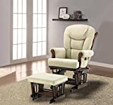 Naomi Home Deluxe Multiposition Sleigh Glider and