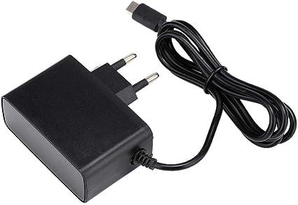 Adaptador de Corriente para Nintendo Switch DC 5V/2.4A Cargador 50 ...
