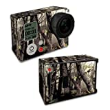 Mightyskins Protective Vinyl Skin Decal Cover for GoPro Hero3+ Plus Silver Black Edition Camera Digital Camcorder wrap sticker skins Tree Camo