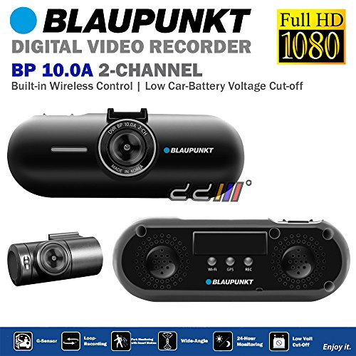 blaupunkt bp10 0a fhd 1080p 2 channel dash cam camera dvr. Black Bedroom Furniture Sets. Home Design Ideas