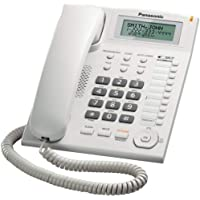 Telefone Com Fio Panasonic KX-TS880 - Branco