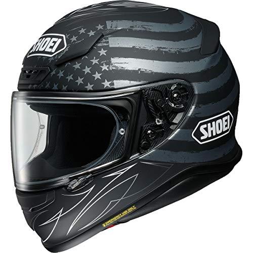 Shoei Dedicated Men's RF-1200 Street Motorcycle Helmet - TC-5 / Large (Helmet Flag Motorcycle)