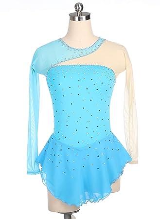 Vestido de Patinaje artístico Hecho a Mano para niñas y ...