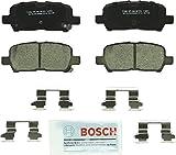 Bosch BC999 QuietCast Premium Ceramic Disc Brake Pad Set For Buick: 2005-2009 Allure, 2005-2009 LaCrosse; Chevrolet: 2011-2013 Impala, 2014-2016 Impala Limited; Pontiac: 2004-2008 Grand Prix; Rear: more info