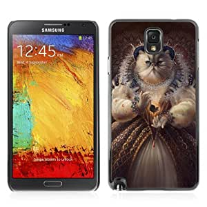 YOYOSHOP [Funny Queen Cat Painting] Samsung Galaxy Note 3 Case by Maris's Diary