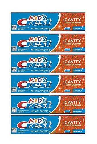 Kids Crest Toothpaste - Cavity Protection, 2.7 Oz,(pack of 6) by Crest (Image #5)