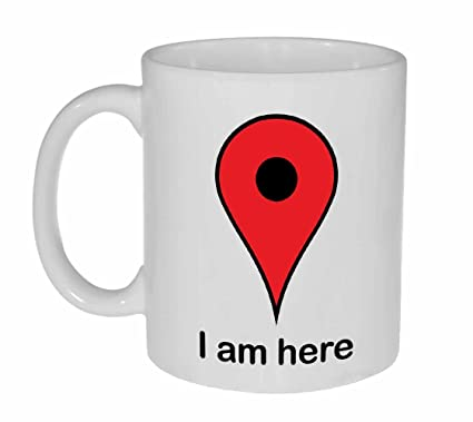 Amazon.com | Google I am Here GPS Map Locator Coffee or Tea ... on google map navigation, google map online, google voice, google map button, google map tracking, google map scale, google map legend, google translate, google site map, web mapping, google docs, google chrome, google map messages, google map filter, google map vehicle, google moon, google search, bing maps, yahoo! maps, google map gps, google earth, google map listing, satellite map images with missing or unclear data, google street view, google map drop, google goggles, google map logo, google map key, google map history, google mars, google map maker, google latitude, google map city, google company locations map, google sky, route planning software,