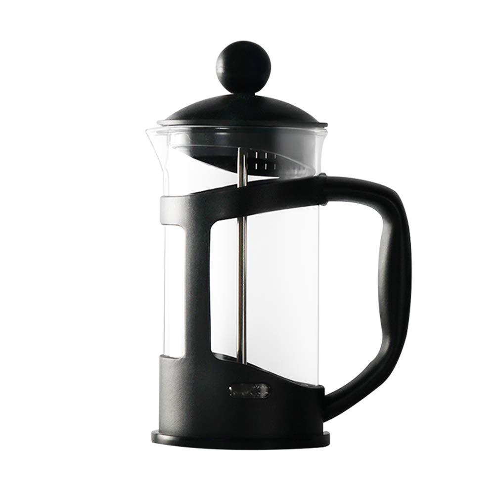 Acquisto Metodo Pressione Pot Caffettiera Uso domestico Filtro a pressione Pentola Resistente al calore Tazza per caffè e tè, portatile e facile da pulire, per viaggi in ufficio Prezzi offerta