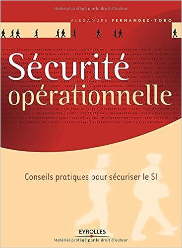 couverture du livre Sécurité opérationnelle