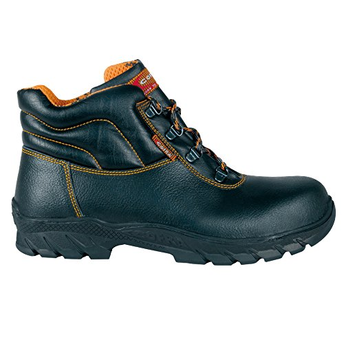 "Cofra 17530–000.w45Talla 45S3CI HI HRO SRC–zapatos de seguridad de ""Gottardo, color negro"