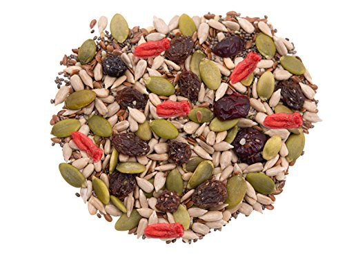 Super-10-Food-Mix-4-LBS-By-Gerbs-Top-12-Food-Allergy-Free-NON-GMO-Vegan-Kosher-Pumpkin-Sunflower-Chia-Flax-Hemp-Seeds-Dried-Blueberries-Cranberries-Raisins-Cherries-Goji-Berries