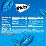 Trident Original Flavor Sugar Free Gum, 12 Packs of